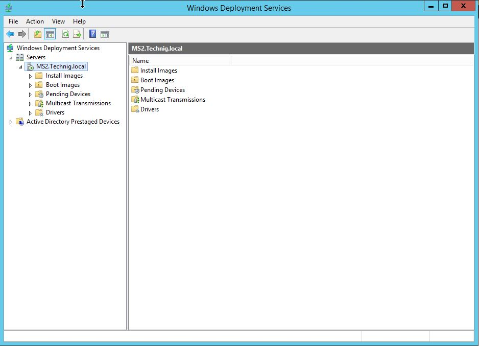 Windows Deployment Services In Windows Server 2012 R2