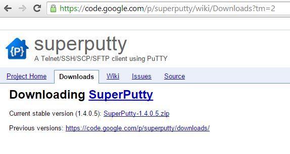 super putty download for windows 8 64 bit