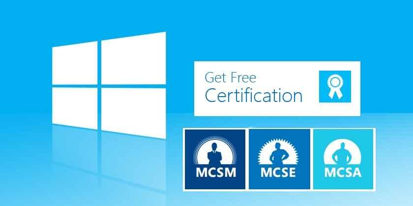 Get Free Mcse Recertification From Microsoft Mva