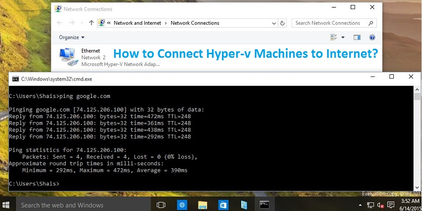 How to Connect Hyper-v Machines to Internet in Windows 10? - Technig