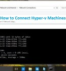 Connect Hyper-v Machines to Internet - Technig