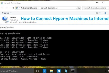 How to Connect Hyper-v Machines to Internet in Windows 10