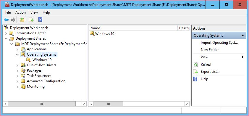 Upgrade to Windows 10 Using MDT