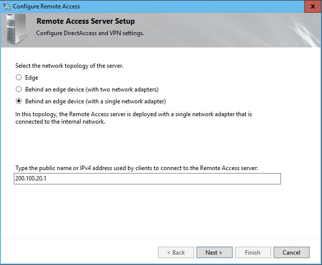 How to Configure DirectAccess VPN on Server 2016? - TECHNIG