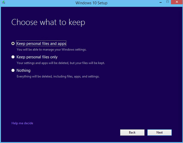 Reinstall Windows 10 without Losing Files - Technig