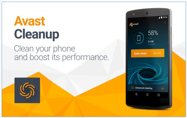 Avast Cleanup - Best Android Junk File Cleaner