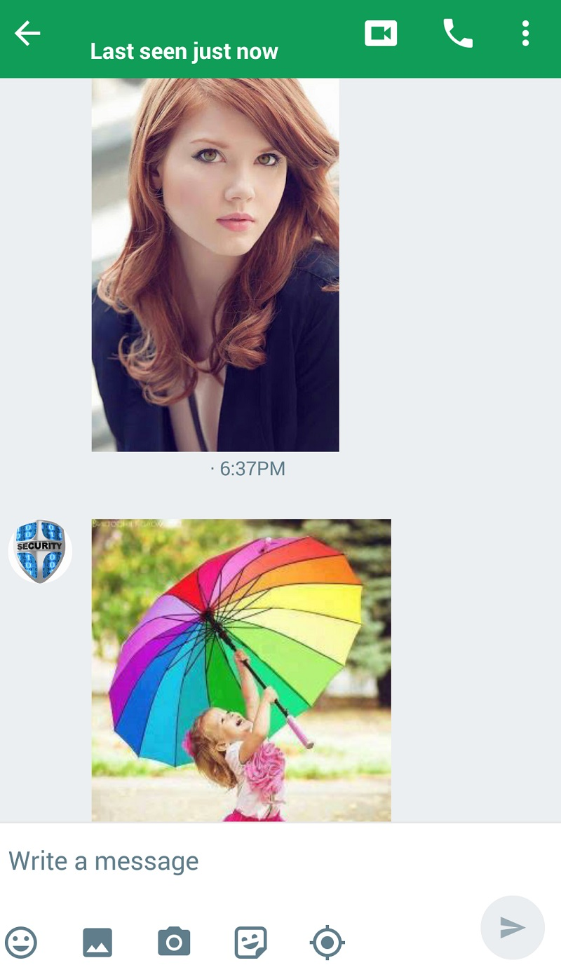 Hangout Messages