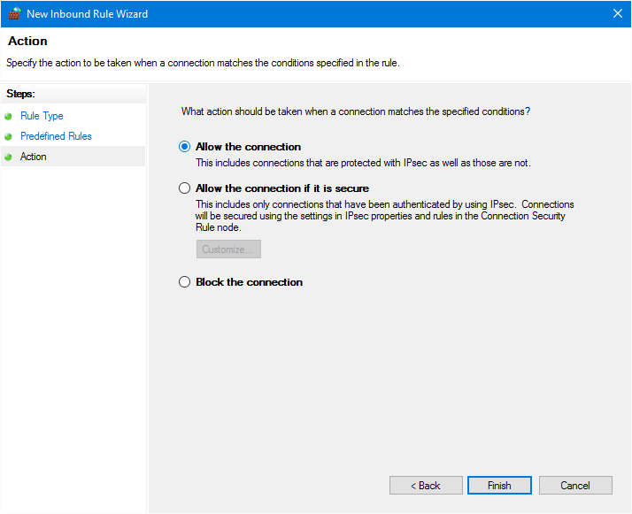 allow network discovery windows 7