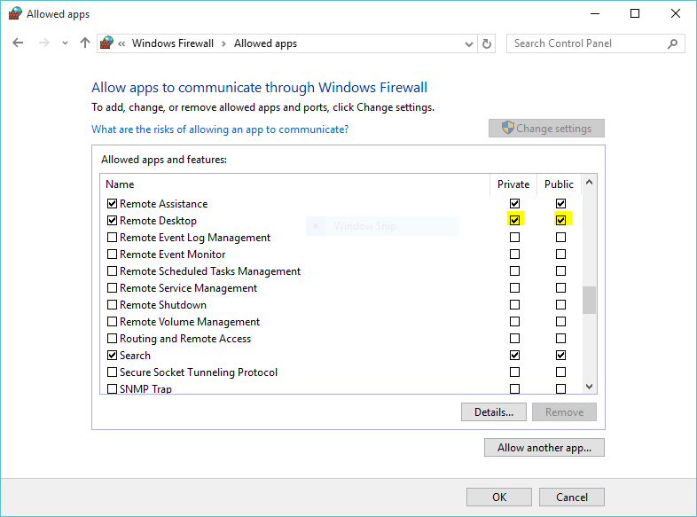 How to Remote Access Windows 10 via Ubuntu and Vise Versa?