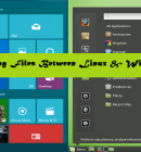 Share Files Between Linux and Windows - Technig