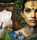 Fantasy Peacock - 10 Attractive Photoshop Designs