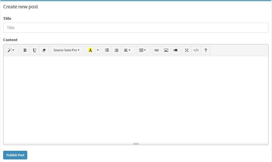 How to Add Wysiwyg Editor in Laravel Projects - Technig