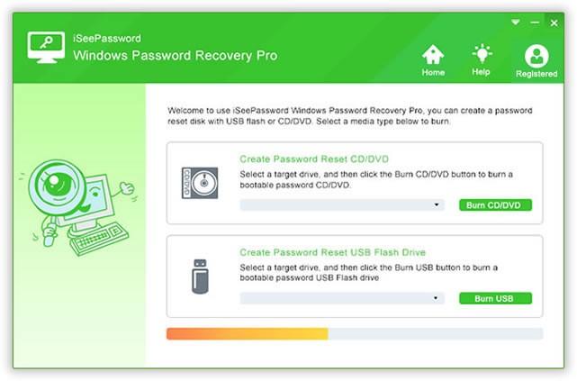 Reset Windows 10 Password with iSeePassword Windows Password Recovery Pro
