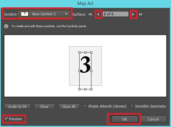 Illustrator Map Art Options