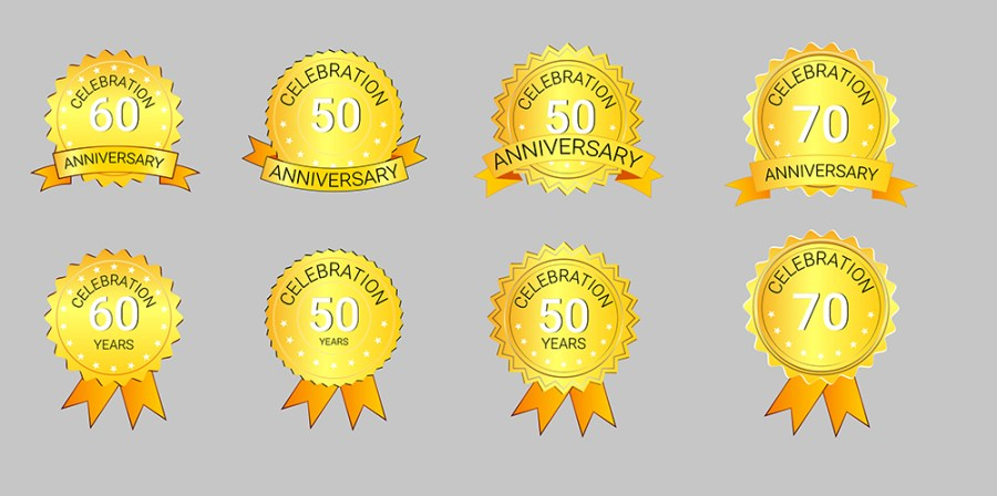 Create Anniversary Badge Inside Illustrator