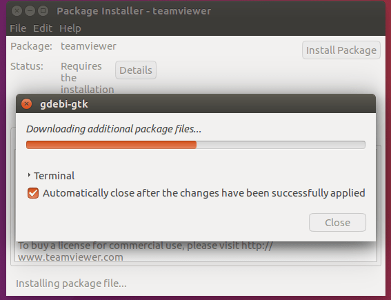 3rd Party Software Installation Process
