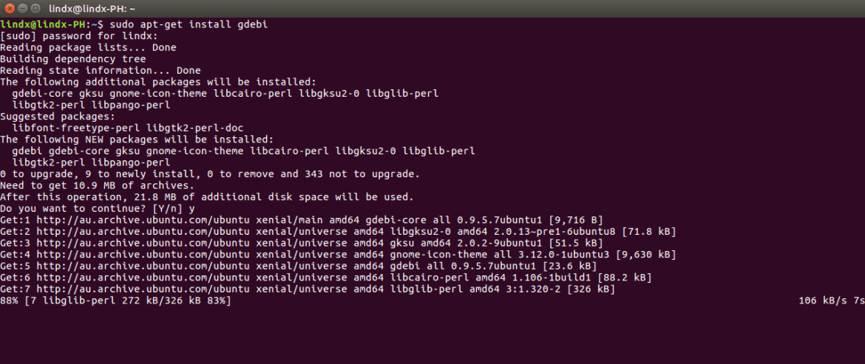 Install Gdebi Software Installer on Ubuntu Desktop