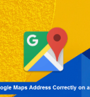 Set Google Maps Address Correctly in a Website