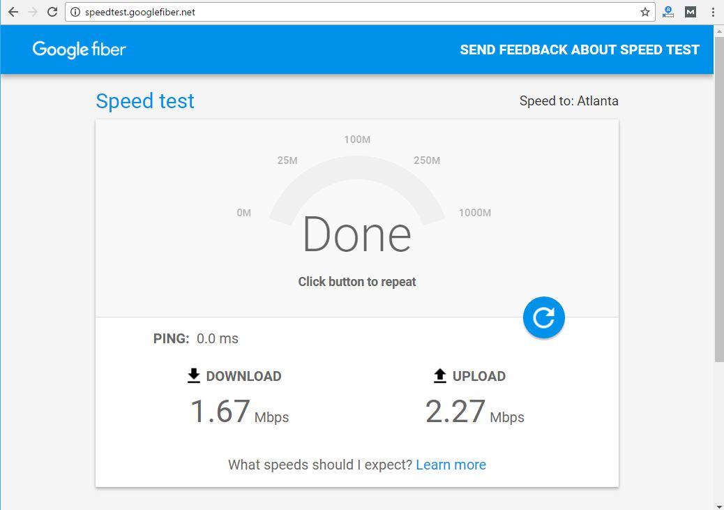 Test Internet Speed Correctly - Technig