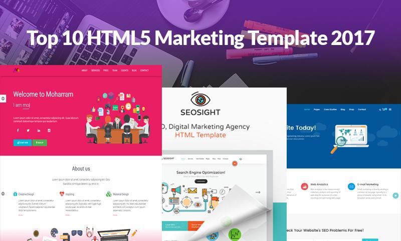 top 10 html5 marketing templates 2017 technig
