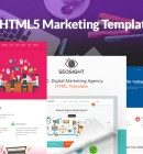 Top 10 HTML5 Marketing Templates 2017