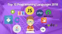 Top 10 Programming languages 2018 - Technig