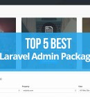 Top 5 Best Laravel Admin Template Packages