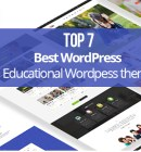 Top 7 Best WordPress Educational Theme