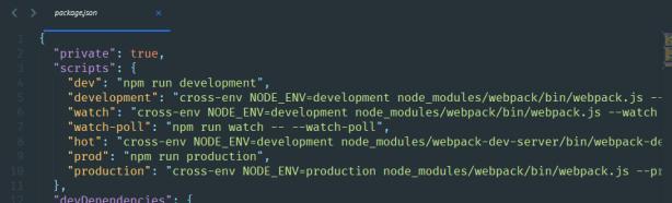 npm command list