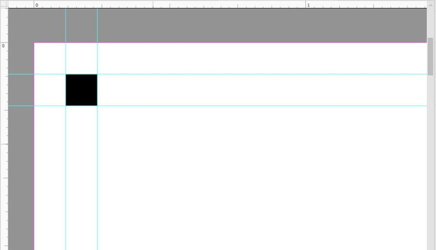 Add Safety Guides on Document in Photoshop