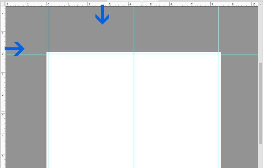 Adding Guides on Document in Photoshop