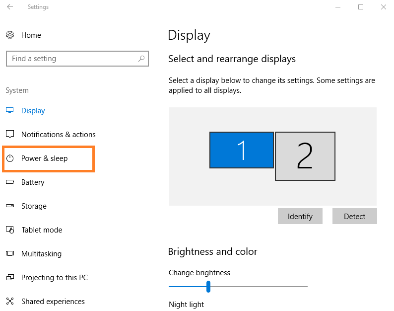Windows 10 Power Option Settings and Configuration - Technig