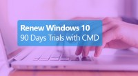 How to Renew Windows 10 90 Days Trial Free Using CMD - Technig