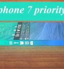 iphone 7 priority