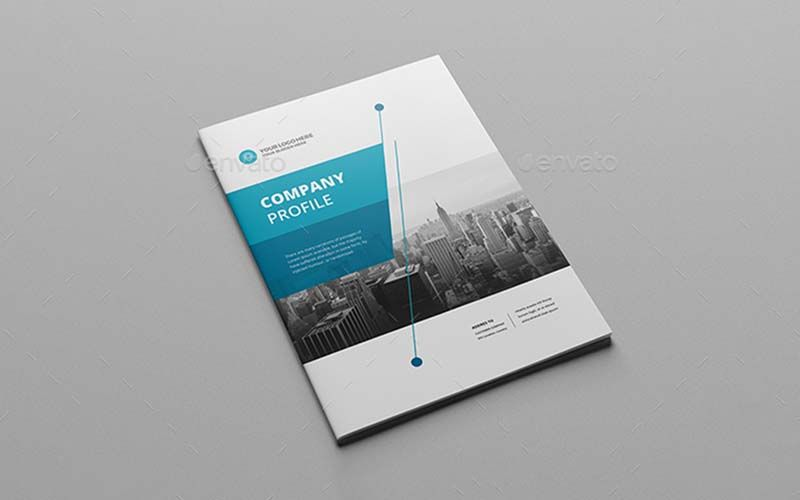 business brochure template technig