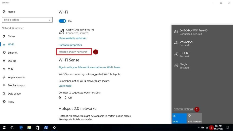 Forget Windows 10 WiFi Network Profile - Technig