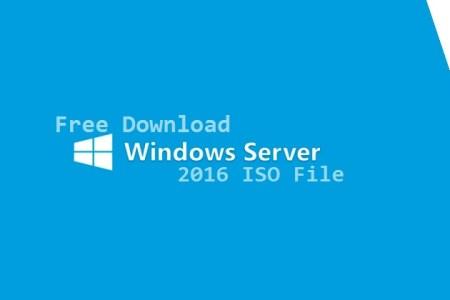 Free Download Windows Server 2016 Iso File Technig