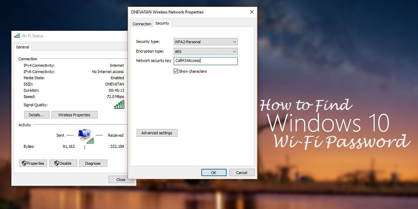 How to Find Windows 10 WiFi Password Quickly? - Technig