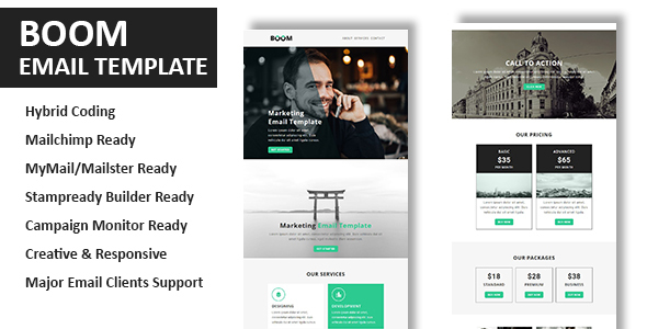 The Boom - Multipurpose Responsive Email Template