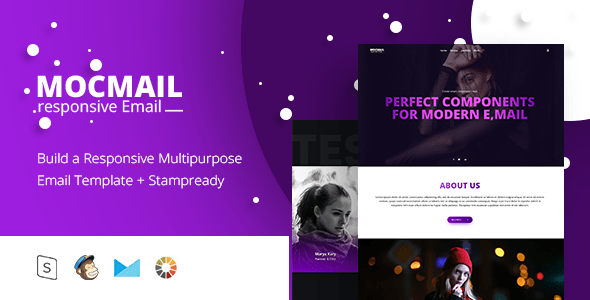 The MOCMAIL - Responsive Email + StampReady Builder