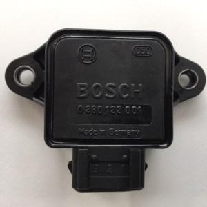 Bosch 0280122001 Drosselklappen Potentiometer, Sensor Drosselklappe, Originalteil für Fiat, Lancia, Opel Volvo, Saab und viele andere Fahrzeuge.