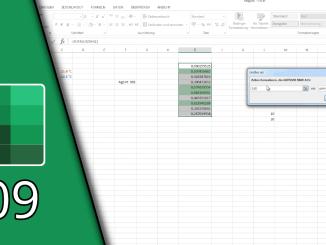 Excel bedingte Formatierung