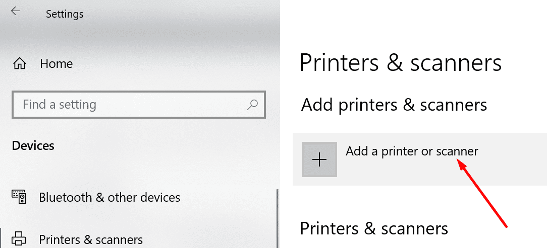 add a printer or scanner windows 10