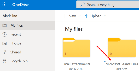 onedrive microsoft teams files