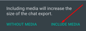 include media whatsapp export chat