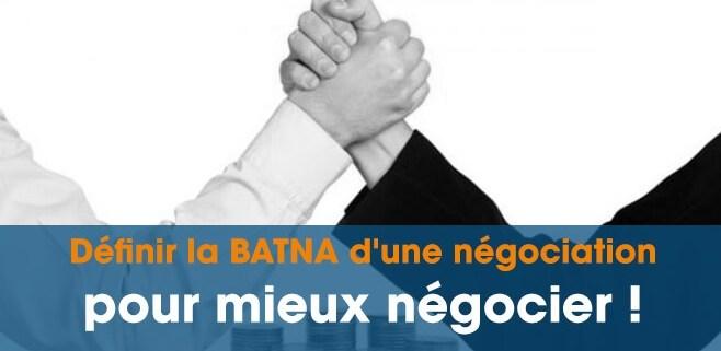 batna négociation