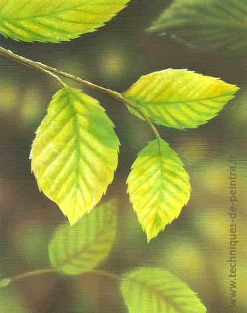 feuilles-d'arbre-techniques-de-peintre