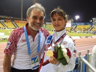 Elena Sviridova and Dr. Romanov