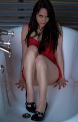 Cathy in the Bath