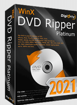 WinX DVD Ripper Platinum 2021 Box Shot